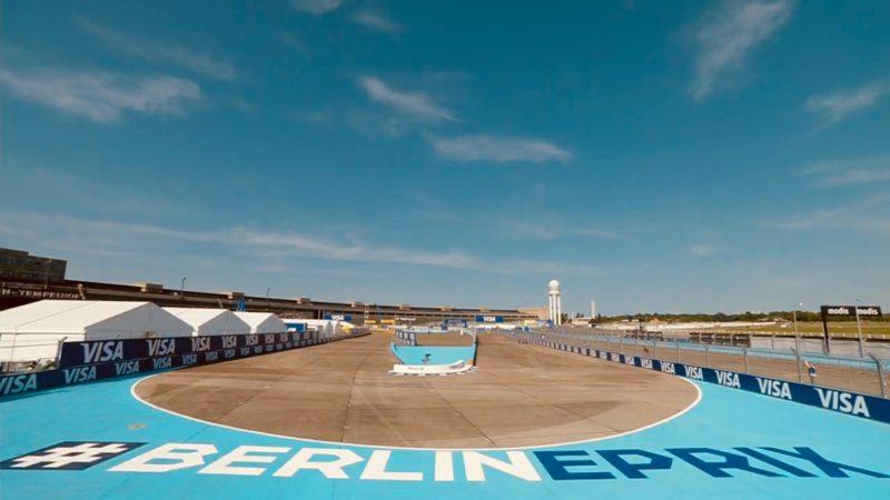 track painting berlin e-prix