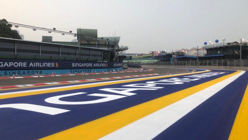 track painting branding singapore f1