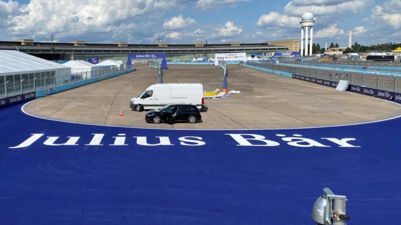 track painting formula e roadgrip branding