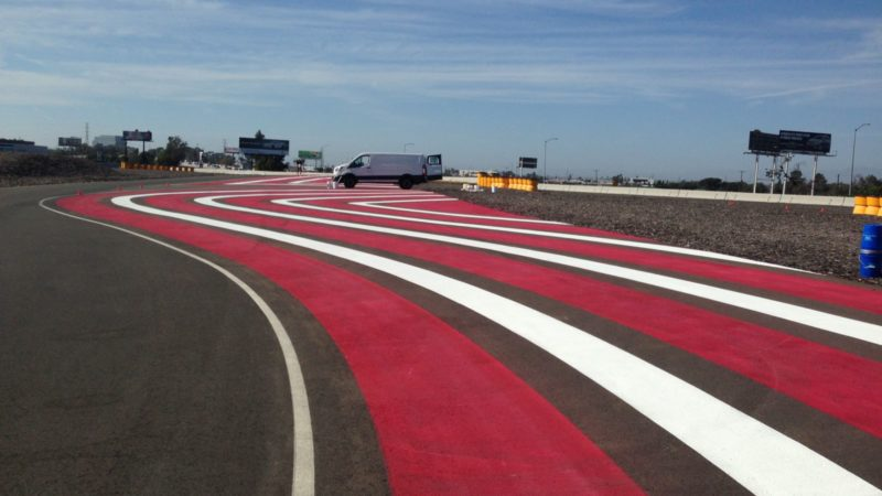 track painting porsche