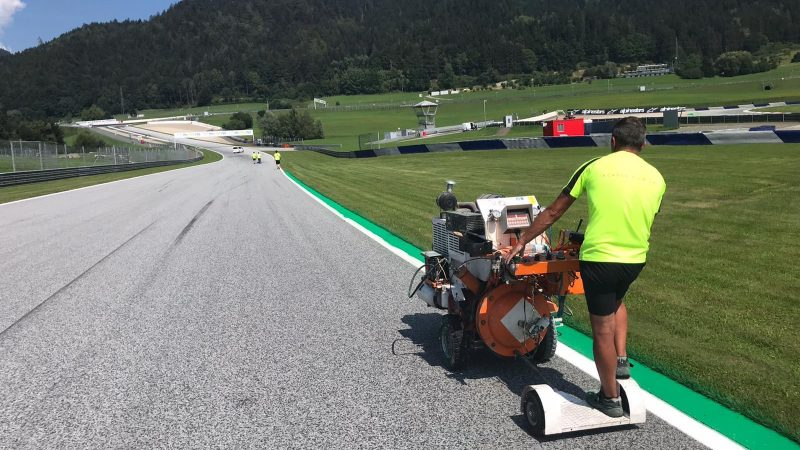 track painting red bull ring