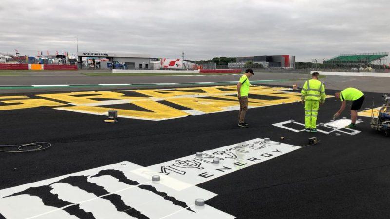 track painting sponsorship roadgrip