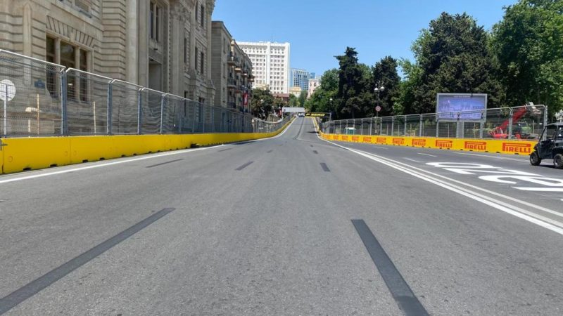 track preparation azerbaijan