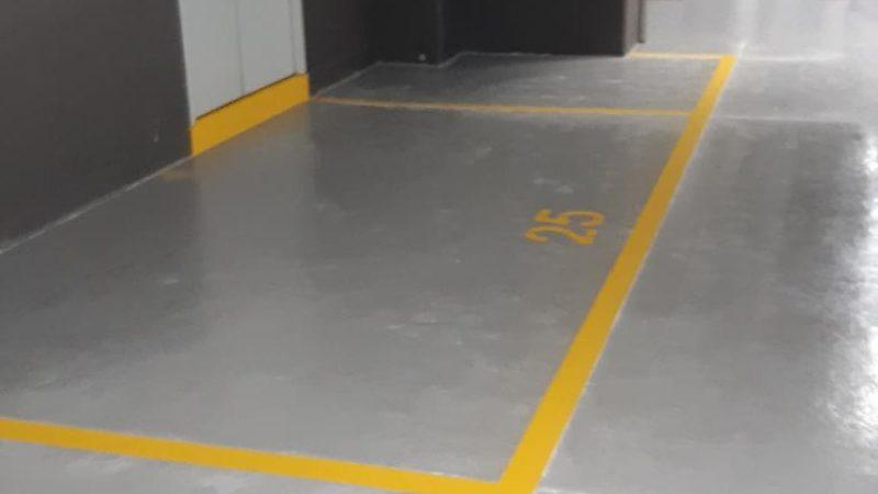 underground car park flooring roadgrip