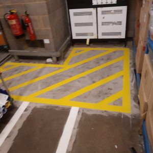warehouse safety markings